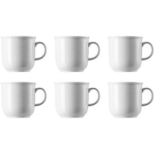 Thomas 11400-800001-15571 Trend Kaffeebecher 360 ml, Porzellan, weiß (6 Stück)
