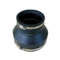 RUG Verbinder Rohrverbinder Gummi Rohrmuffe Gummimuffe Flexmuffe Rohr Muffe Reduziermuffe 110-125 auf 144-160, (1-St), witterungs- und UV-Licht-beständig