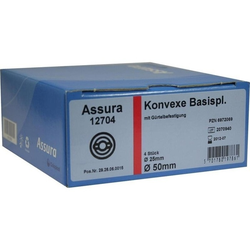 ASSURA Basisp.konvex RR50 25mm m.Gürtelb. 4 St