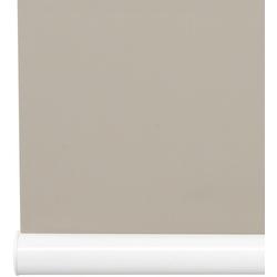 Springrollo Softrollo Mittelzugrollo Schnapprollo, Liedeco, Lichtschutz, ohne Bohren braun 60 cm x 130 cm