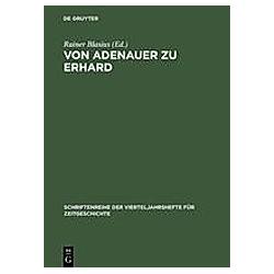 Von Adenauer zu Erhard - Buch