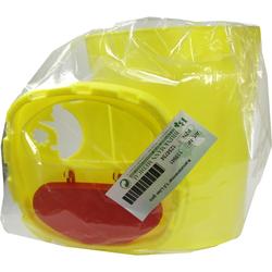 Kanüleneimer 1,5 l Gelb
