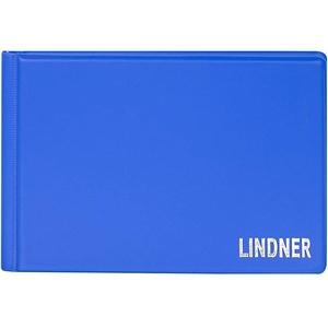 Lindner Das Original, Taschen-Münzalbum Color für 48 Münzen, 150 x 100 x 18 mm - in 10 Farben zur Auswahl (Lugano (helles blau))