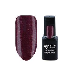 UV Shellac - Grape Glitter 12ml - Shellac Nagellack Gellack Gel Nagellack UV Lack