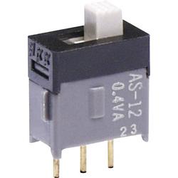 NKK Switches AS22AP Schiebeschalter 28V DC/AC 0.1A 2 x Ein/Ein 1St.