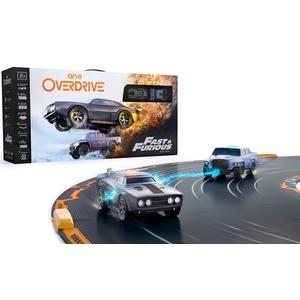 Anki 000-00068 Overdrive Fast und Furious Edition,App-gesteuertes Autorennbahn-Set, für 1- 4 Spieler,mehrfarbig