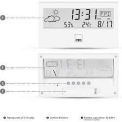 Clatronic WSU 7022 170221 Mobile Wetterstation