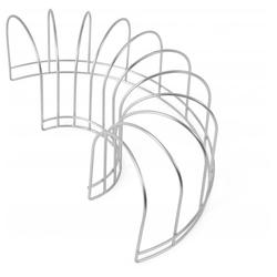 OYOY Geschirrständer Dish Drainer Abtropfgestell, Zubehör für OYOY Abtropfmatte Dish Tray, Spülgestell Skandinavisches Design Geschirrhalter silberfarben