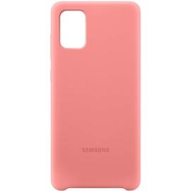 Samsung Silicone Cover EF-PA715 für Galaxy A71 pink