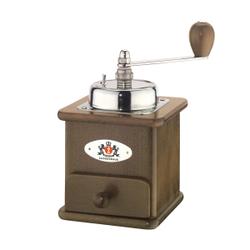 Zassenhaus Brasilia Kaffeemühle, Buche, Bohnenmühle im nostalgischem Design, Maße ( L x B x H): 12,5 x 12 x 20 cm, dunkel gebeizt