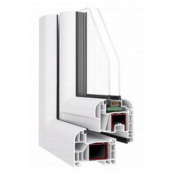 Das Kunststoff-Fenster im Profil Ovlo - 6-Kammer Profil, Einbautiefe 80mm