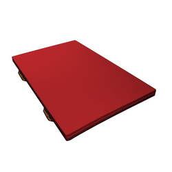 KIGA Turnmatte - 150 x 100 x 6 cm - Rot