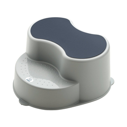 Rotho Babydesign Tritthocker Top Kinderschemel, stone grey grau