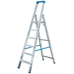 Stufen Stehleiter Alu 5 Stufen Leiter
