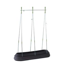 Tepro Pflanzen / Blumen Rankhilfe Spalier G-Row Pflanzhöhe bis zu 140 cm