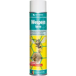 HOTREGA® Wespenspray, Hochwirksames Kontaktinsektizid zur gezielten Bekämpfung von Wespen, 600 ml - Sprühdose