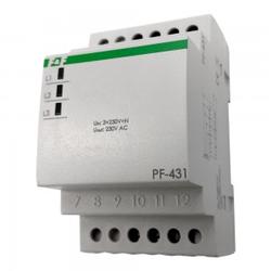 Automatische Phasenwächter Phasenüberwachung Phasenumschalter mit Prioritätsphase PF-431 F&F 4024