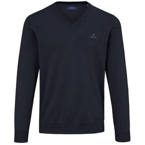 V-Pullover GANT blau