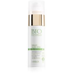 Phytorelax Laboratories Bio Sebum Aloe Vera glättendes Serum zur Reduzierung von Gesichtshautmakeln mit Aloe Vera 30 ml
