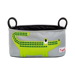3 Sprouts Kinderwagen-Transporttasche Kinderwagentasche Elefant, 16 x 32 cm grün
