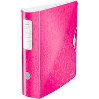 Leitz Active WOW 1106 Ordner pink-metallic Kunststoff 8,2 cm