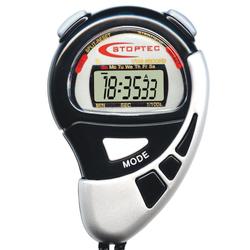 STOPTEC® 141 Stoppuhr, Schwarz