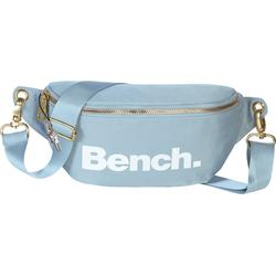 Bench. Gürteltasche OTI303H Bench stylische Hip Bag Nylon Gürteltasche (Gürteltasche), Damen, Jugend Gürteltasche Nylon, blau ca. 25cm breit, großes Logo
