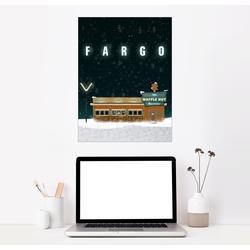 Posterlounge Wandbild, Fargo 50 cm x 70 cm