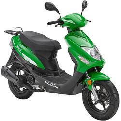 Luxxon Motorroller UNO, 49 ccm, 45 km/h, Euro 4 grün