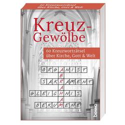 Kreuz-Gewölbe als Buch von