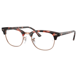RAY BAN Brille CLUBMASTER RX5154 rosa