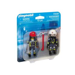 Playmobil® Spiel, PLAYMOBIL® DuoPack Feuerwehrmann und Frau