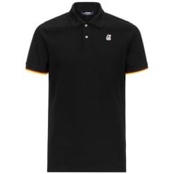 K-way - Vincent Contrast Black - Poloshirts - Größe: M