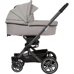 Hartan Kombi-Kinderwagen Vip GTS, mit Falttasche; Made in Germany grau