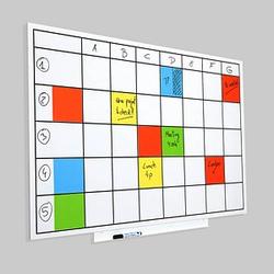 rocada Whiteboard Skin Planner 115,0 x 75,0 cm mit Raster