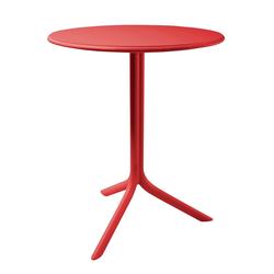 Stół Chapena czerwony średnica 61 cm