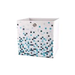 dynamic24 Aufbewahrungsbox, Motiv Textil Faltbox Mosaik 31cm Aufbewahrung Box Faltkiste Textil-Box