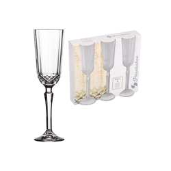 HTI-Living Champagnerglas Champagnerglas 3er Diony