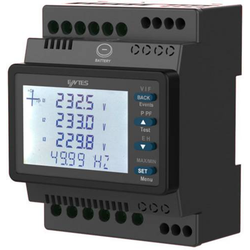 ENTES MPR-24 Digitales Hutschienenmessgerät MPR-24 Multimeter für Hutschiene