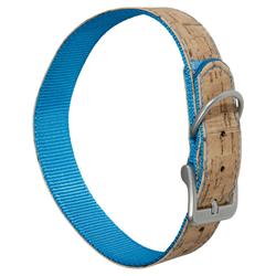 Karlie Halsband Kork blau, Länge: 35 cm
