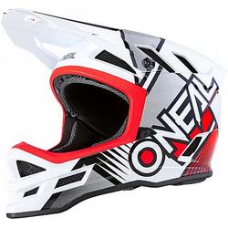 ONeal Blade Polyacrylite Delta S20 Fahrradhelm - Weiß/Rot - M