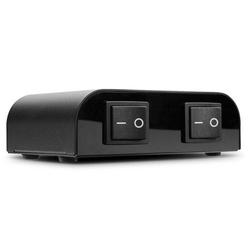 Lindy 70422 Lautsprecher-Umschalter, 2 Port