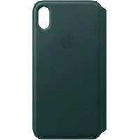 Apple iPhone XS Max Leder Folio waldgrün