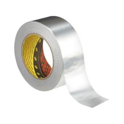 Aluminiumklebeband 1436 P/F silber 75 mm x 50 m