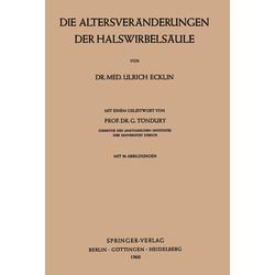 Der Halswirbelsäule als Buch von Ulrich Ecklin