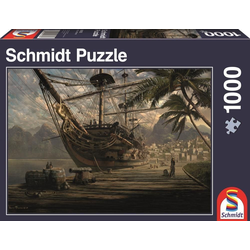 Schiff vor Anker 1.000 Teile Puzzle