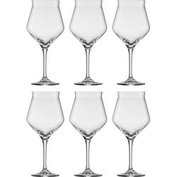 Eisch Bierglas Craft Beer Kelch (6-tlg), bleifreies Kristallglas, 435 ml