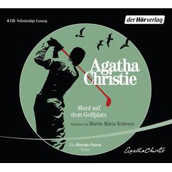Mord auf dem Golfplatz als Hörbuch CD von Agatha Christie