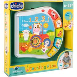 Chicco Lernspielzeug Zahlen Farmbuch