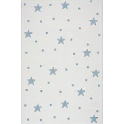 Kinderteppich, HEAVEN creme/blau, 120 x 170 cm